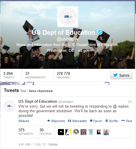 US Dept of Education  usedgov  sur Twitter
